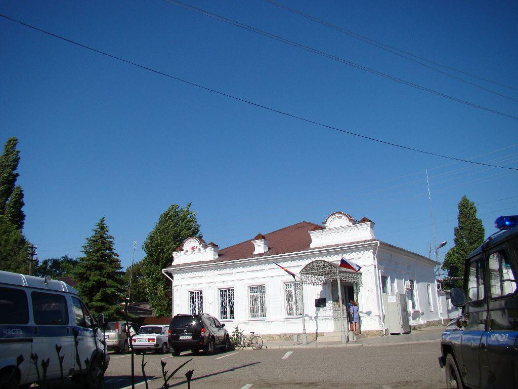 Здание полиции по ул. Космонавтов