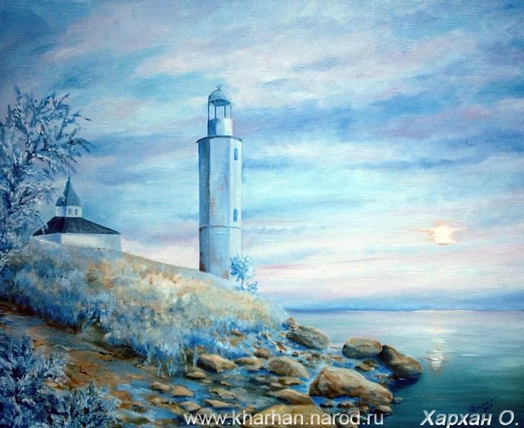 Картина Ахтарский маяк
