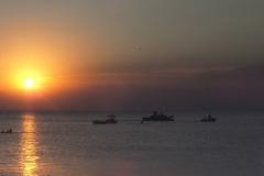 Закат в Приморско-Ахтарске