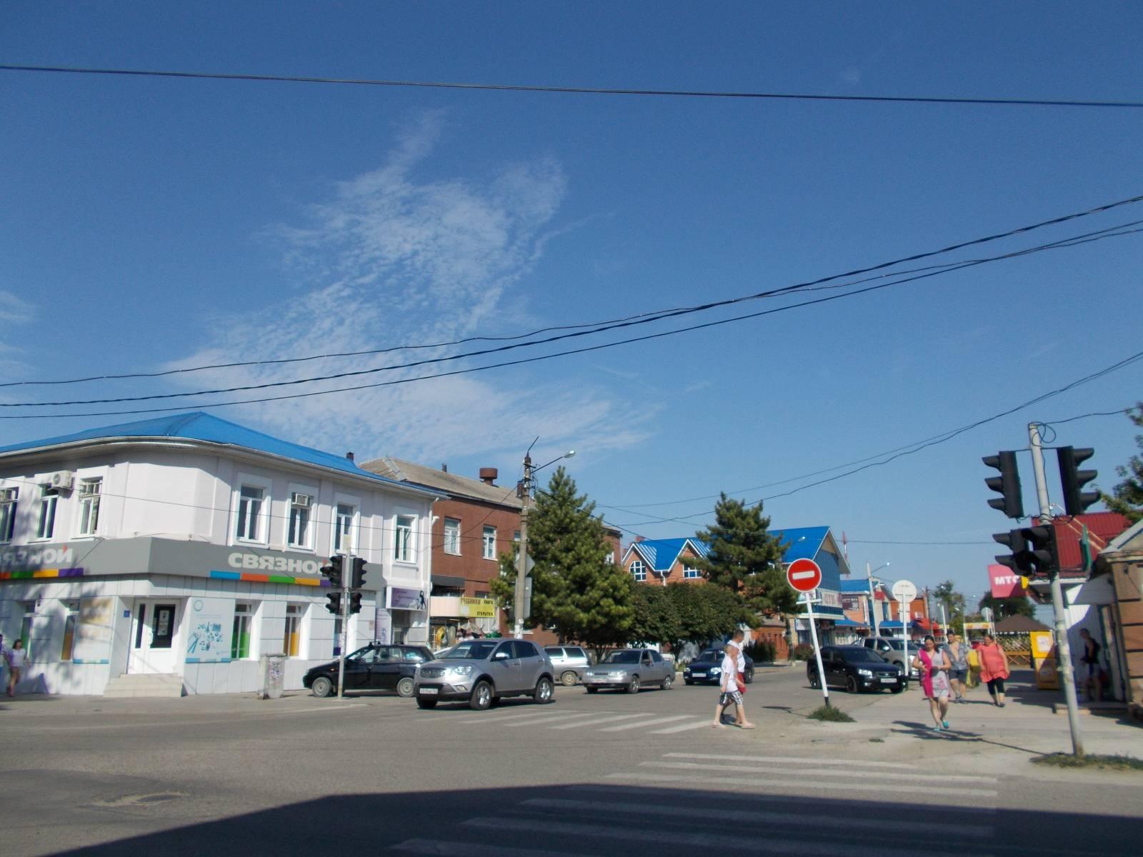 Перекрёсток ул.Космонавтов и Пролетарской
