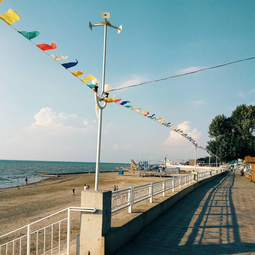 Набережная Приморско-Ахтарск