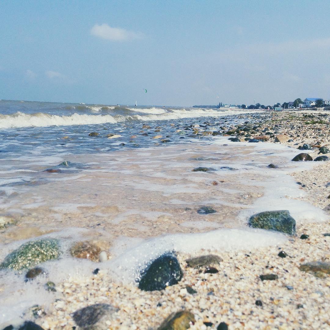 Азовский берег в Ахтарях