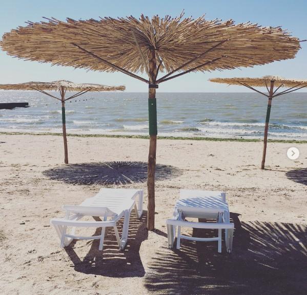 Пляж Приморско-Ахтарска 2017
