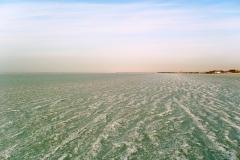 Замёрзшие волны Азовского моря